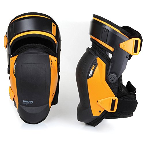 Price comparison product image ToughBuilt GelFit Fanatic - Thigh Support Stabilization Professional Knee Pads - Comfortable Gel Cushion & Heavy Duty Foam Padding,  Strong Adjustable Straps,  Premium Quality,  Durable (TB-KP-G3)
