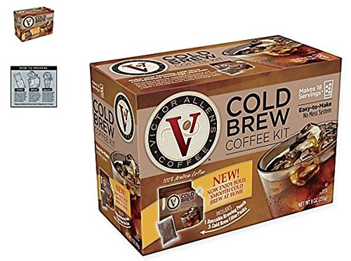 Victor Allen Coffee Now Offers A VA Cold Brew Coffee Fridge Kit With A Reusable Pouch