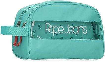 Neceser Pepe Jeans Darienne Doble compartimento Adaptable: Amazon.es: Equipaje