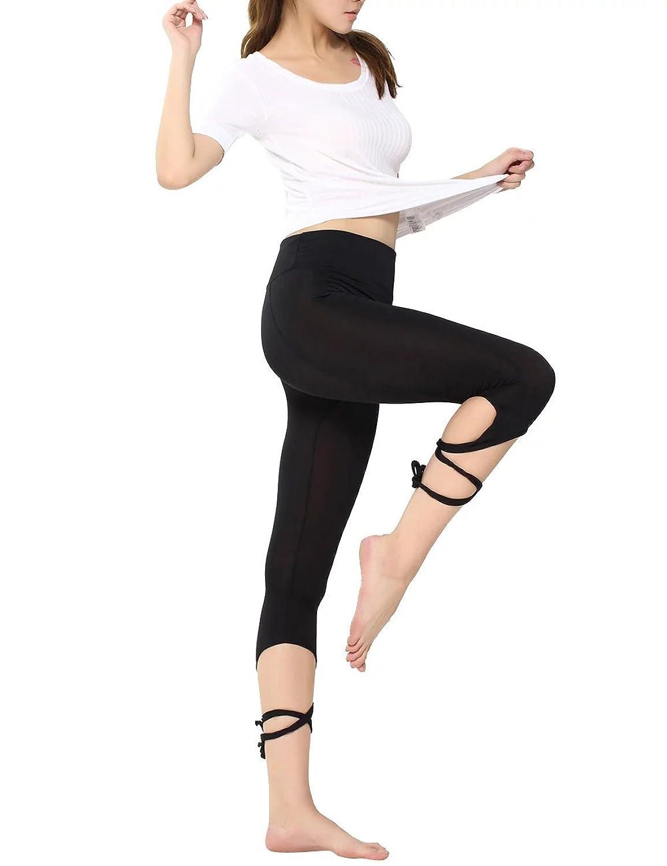68c9366782b62 Yoga pants Ballet Spirit Bandage Workout Infinity Turnout Leggings Dance  Pants For Women durable service