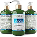 Anti Hair Loss DHT Blocker Conditioner Clove Leaf - Moringa Hair Growth Botanical For Hair Thinning Prevention Alopecia Postpartum 10.2 Fl Oz