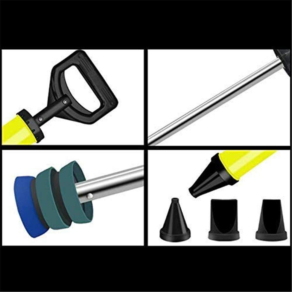 multifunktionale Injektionspumpe f/ür die Bauindustrie DIY-Injektionswerkzeug mit D/üse professionelles M/örtel- und Injektionspistolen-Set Zementinjektionspistole