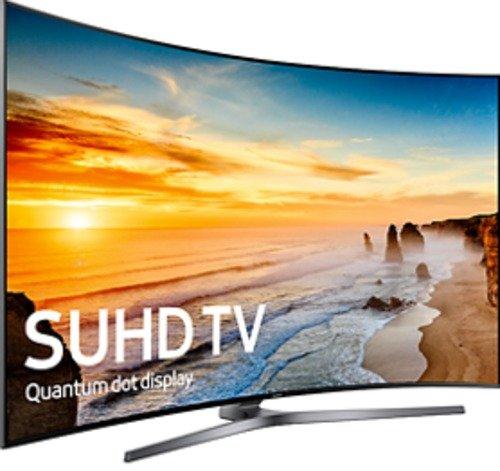 Samsung KS9800 9-Series UN78KS9800FXZA 78-inch Curved 4K Ultra HD Smart LED TV - 3840 x 2160 - Supreme MR 240 - HDMI, USB (Certified Refurbished)