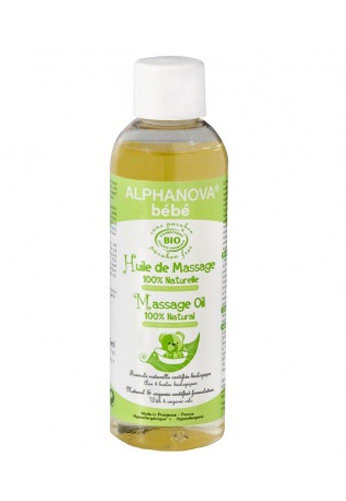 Alphanova Huile de massage amande douce macadamia 100ml 1683-ABIOHUIL