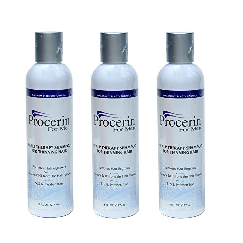 Procerin Shampoo for Hair Thinning Removes DHT Cleanse Scalp Hair Loss 3 Shampoo Shipping Fast by HEALTYCARE