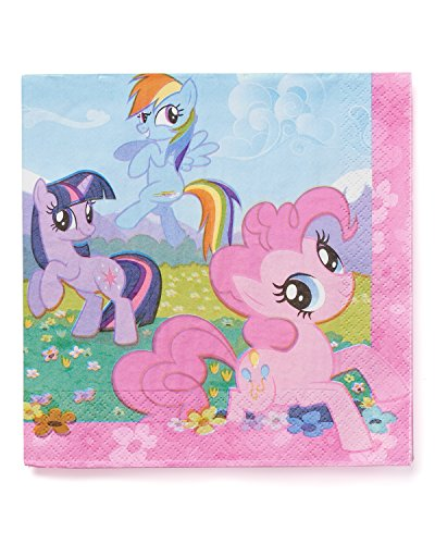 American Greetings, My Little Pony Lunch Napkins, 16-Count