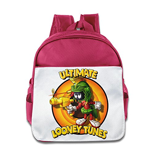 (XJBD Custom Cute Marvin Ultimate Looney Tunes Children School Bag For 1-6 Years Old)