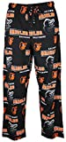 Baltimore Orioles Mens Black Fusion Pajama Pants