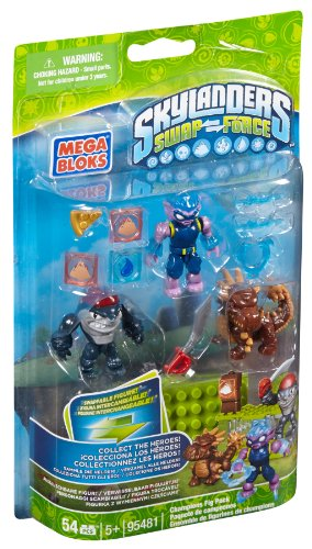 Mega Bloks Skylanders Champion Figure Pack (Night Shift Skylanders)