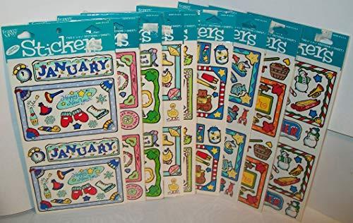 Frances Meyer Sticker Packs for 10 Months