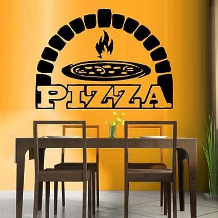 Exceptionnel Wall Decal Vinyl Sticker Decals Art Decor Design Pizza Interior Pizzeria  Resaurant Italy Kitchen Food Inscription
