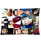 1 X Stitching Dylan O'brien Poster Pattern Two Sides Print Custom Pillowcase Cover Standard Size 20*30 ID-335