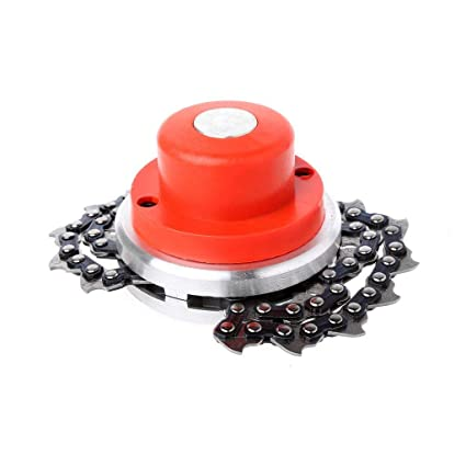 Universal Lawn Mower Chain Trimmer Head Chain Brushcutter For Garden Grass Brush Cutter Tools Spare Parts For Trimmer Tools Part Latest Technology Tools Grass Trimmer