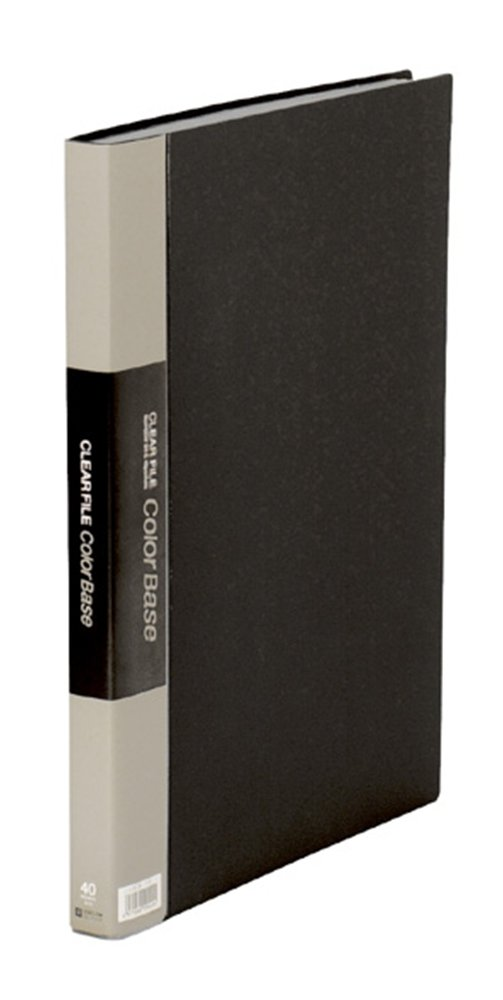 King Jim clear color base file W B4S black black 142CW (japan import)
