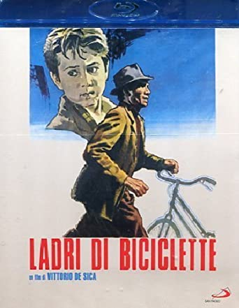 Ladrón de bicicletas / The Bicycle Thief (1948) ( Ladri di biciclette ) ( The Bicycle Thieves ) [ Origen Italiano, Ningun Idioma Espanol ] (Blu-Ray)