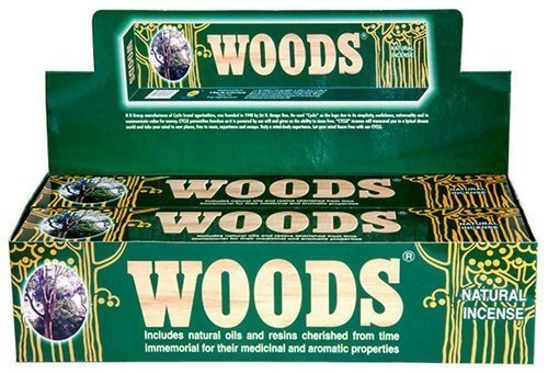 Woods Hand Crafted Indian Incense Sticks Pack by Cycle Brand