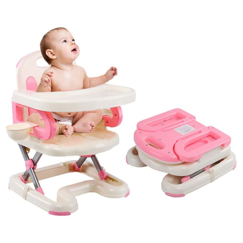 HTOOLA Baby Esszimmerstuhl Kinder tragbare Klappstuhl Multifunktionsstuhl Tisch Studienstuhl Hochstuhl,B