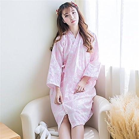 8bfc171da75 WXIN /Chicas Pijama Batas De Dormir La Gasa De Algodón/Ropa Delgada/Servicio
