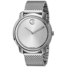Movado Women's Swiss Quartz Stainless Steel Watch, Color: Silver-Toned (Model: 3600241)