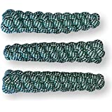 """Rope Dog Toy Stick Pack - Durable Thick Dog Rope Knot Toys 3-Piece Set for Puppies Medium Large Dogs Play Fetch, Tug of War Dental Pet Toy For Teeth Cleaning Natural Cotton Chewers 8"""" Length 2"""" Wide"""