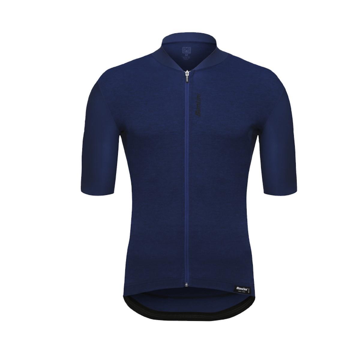 Santiniブルー365 Classe Short Sleeved Cycling Jersey X-Large  B07C59B8CY