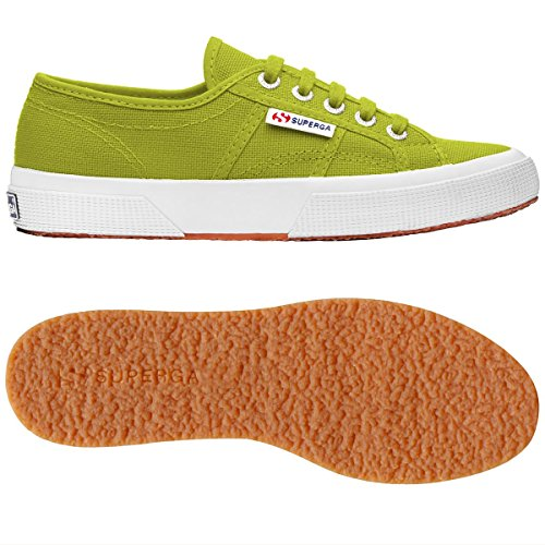 Superga Green Lime Classic Unisex Sneakers Adulto Cotu 2750 ZnqAwBrZ