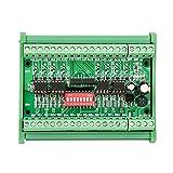 Level Translator, 5V/24V 8 Channel Voltage Level Translator Square Wave PNP NPN Signal Converter Module, Voltage Level Converter Board, 10MHZ