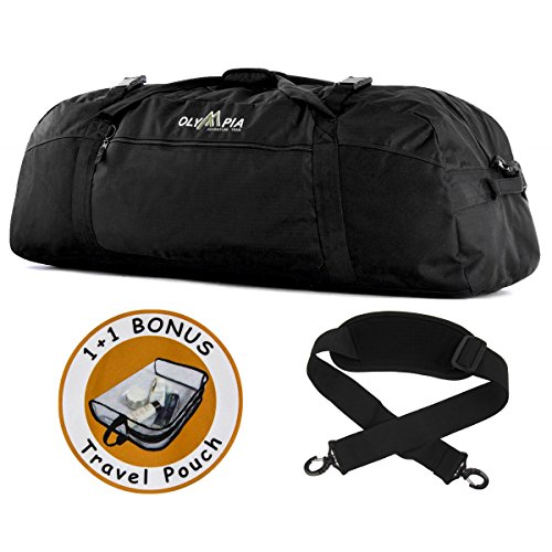 olympia-42-inch-deluxe-large-duffle-bag-with-strap-and-bonus-travel-pouch-luggage-tote