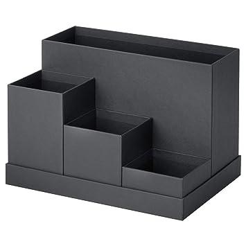 Ikea Tjena Schreibtisch Organizer Schwarz 80395489 Größe 7 X 6 ¾