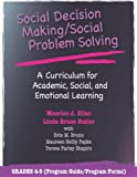 img - for Social Decision Making/Social Problem Solving: A Curriculum For Academic, Social And Emotional Learning: Grades 4-5 (Book and CD) by Maurice J. Elias (2005-09-30) book / textbook / text book