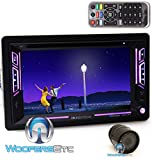 pkg Soundstream VR-63B In-Dash 2-DIN 6.2' Touchscreen DVD with Bluetooth and XO Vision HTC36 Backup Camera with Nightvision