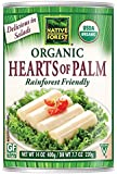 Native Forest Organic Hearts of Palm, 14-Ounce Cans (Pack of 12)