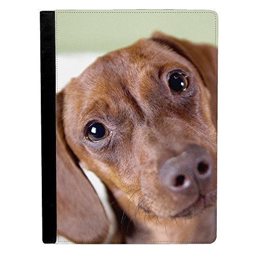 Image Of Dachshund Dog Puppy Apple iPad Pro 9.7 Inch Leat...