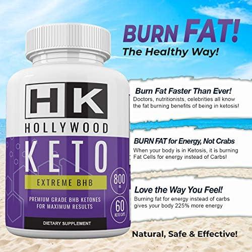 HK - Hollywood Keto Exteme BHB - Premium Grade BHB Ketones for Maximum Results - 30 Day Supply 6