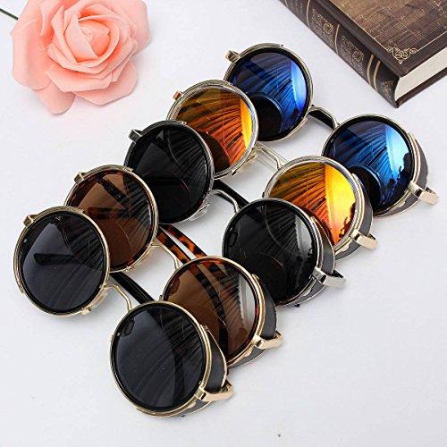 ELEGIANT Sonnenbrille UV400 klassisches rundes Retro Vintage Stil Sonnenbrille Sunglasses Herren Damen Brille Sportbrille
