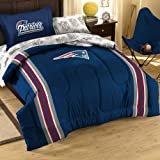 The Northwest Company Officially Licensed NFL New England Patriots Twin Bedding Set