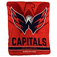"NHL ""Breakaway"" Super Soft Plush Throw Blanket"