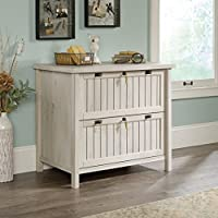 Wood Lateral File Cabinet With Lock And 2 Drawers Holds Letter Or Legal Size Hanging Files, Sturdy, Perfect For Home Office, Chestnut Finish + Expert Guide