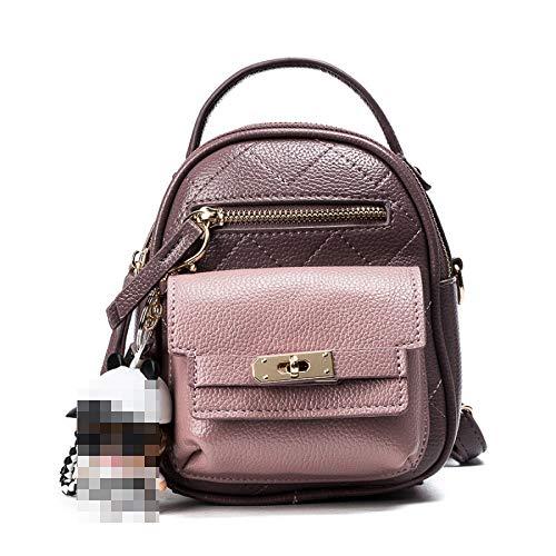 Casual For Ladies Women's Shoulder Leather Backpack Bag School Bag Girls Purse Pink Pu Mini UqSxXSv1
