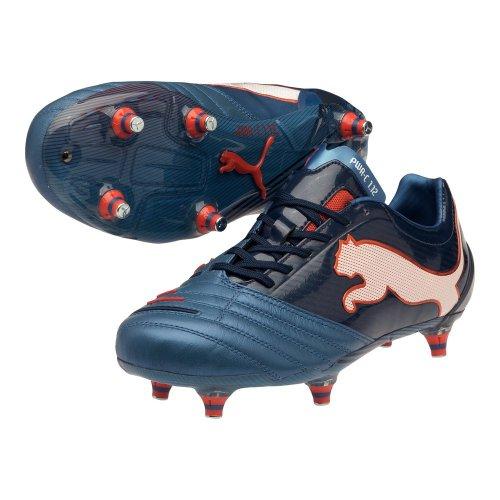 Puma - Botas de fútbol para hombre Azul azul
