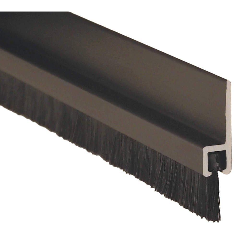 L 8 ft American Garage Door Weatherseal Brush 1-1//2 in Brush