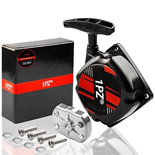 1PZ 33L-001 Recoil Pull Starter for 49cc FS509 Cateye Pocket Mini Bike / 47cc 49cc GS-12 Pocket Mini Bike Parts/Replaces for Hitachi 6696572 Outdoor Power Equipment Parts