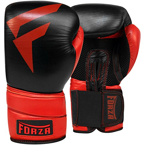 Forza Pro Leather Boxing Gloves