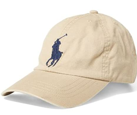 Ralph Lauren Polo Casquette Baseball Big Pony Chino - Enfant 6-14 Ans (55 9b9b9e5a6e3