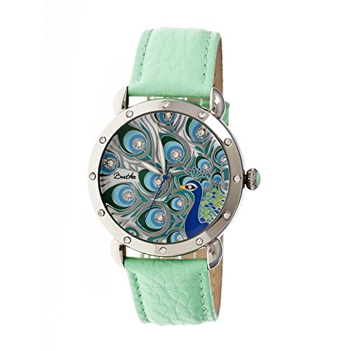 bertha-womens-br3804-genevieve-teal-multicolor-leather-watch