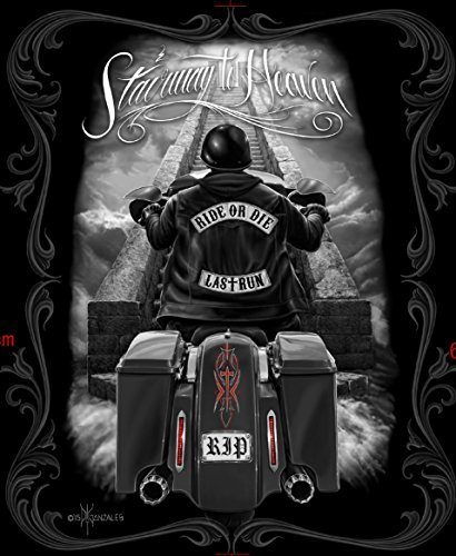 - Ride or Die Motorcycle Stairway to Heaven Queen Size Luxury Royal Plush Blanket 79x95 Inches