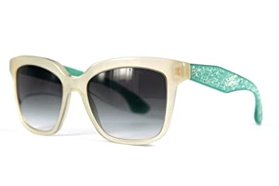 f965a74e1d21 Image Unavailable. Image not available for. Color  Miu Miu 09PS TFP1E0 Opal  Ivory 09PS Cats Eyes Sunglasses Lens Category ...