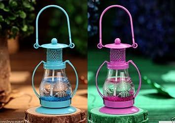 Atorakushon Pack Of 2 Gel Candle Hurricane Gel Lantern Candle For Birthday Decoration Diwali Gift