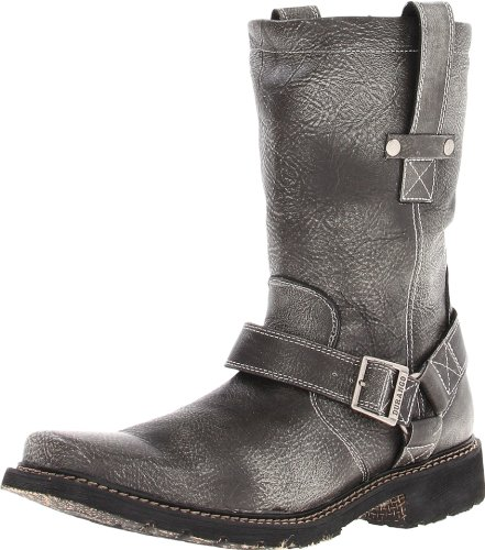 Durango Men's Chicago 11-inch Harness Boot,Charcoal,12 D (M) US