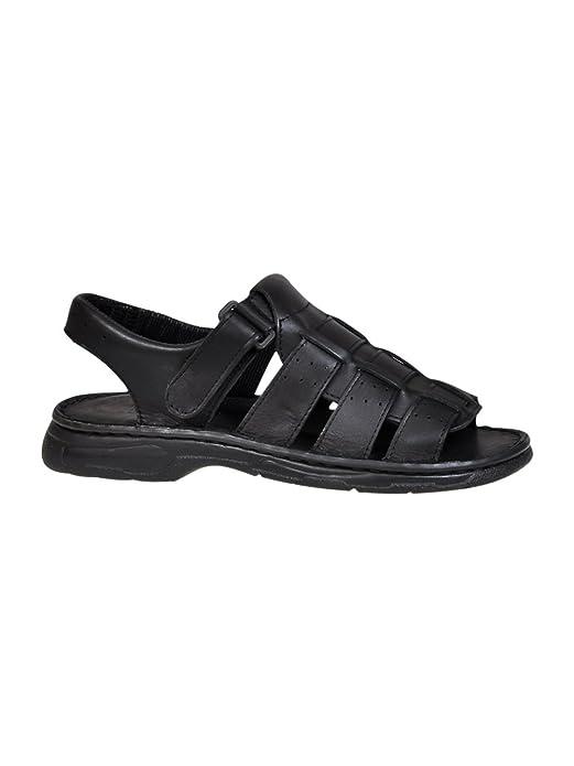 7d2129c2 Cómodos Zapatos Hombres de Cuero Real Búfalo Sandalias Modelo-817:  Amazon.es: Zapatos y complementos